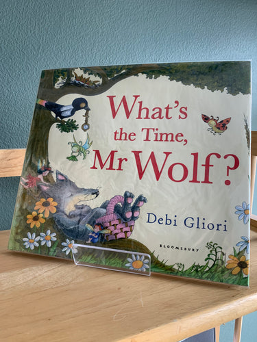 What's the Time, Mr Wolf? (signed and doodled)