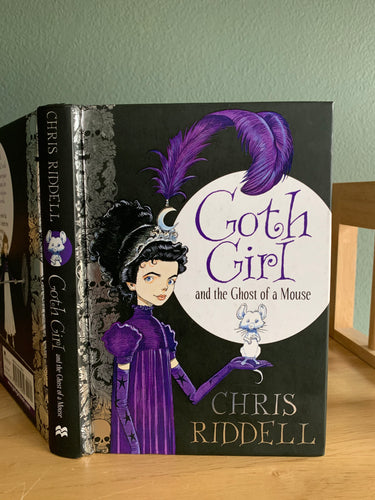 Goth Girl and the Ghost of a Mouse (Signed)