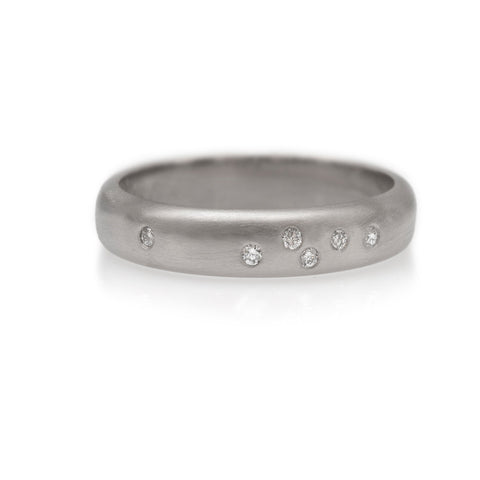 Scatter Ring - White Gold