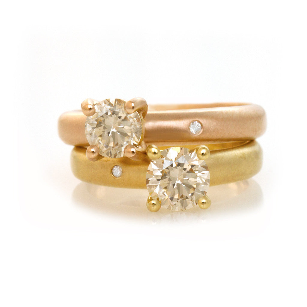 Promise rings - Gold and Diamonds