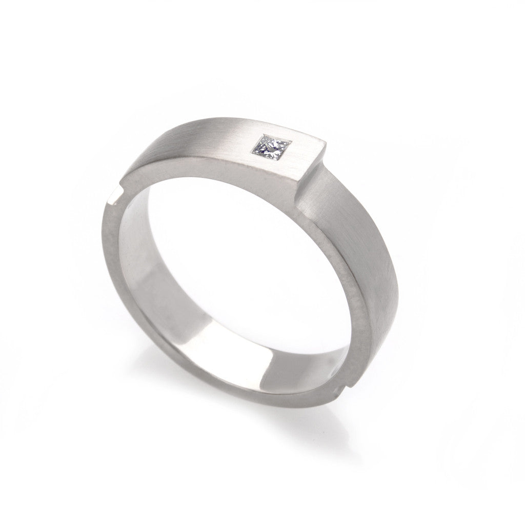 Step Ring - Diamond