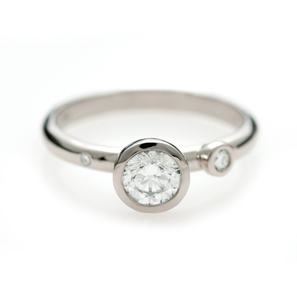 Confetti Ring - White Gold