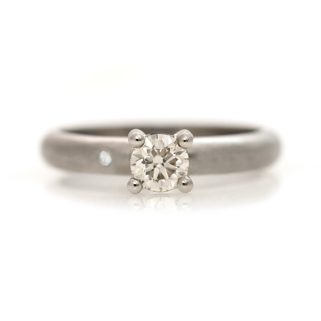 Promise Ring - White Gold