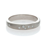 Scatter Band - White Gold Ring