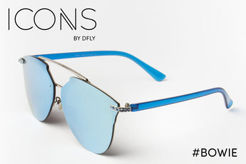 #Bowie Blue ICONS Sunglasses
