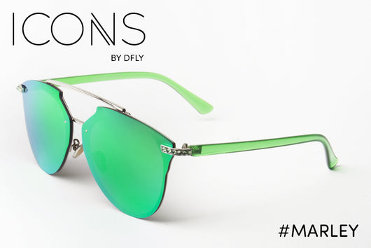 #Marley Green ICONS Sunglasses