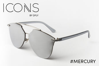 #Mercury Silver ICONS Sunglasses