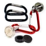 SnapMag Heavy Duty Scratch-Proof Magnetic Carabiner Hook Set