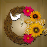 heavy duty magnetic hook wreath hanger