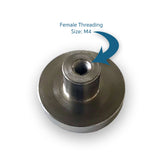 Monster Magnetics Standard Magnet Base M4 Female Threading