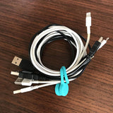 TwistieMag Build Your Own 6 Pack Cord and Cable Management Magnet Wraps