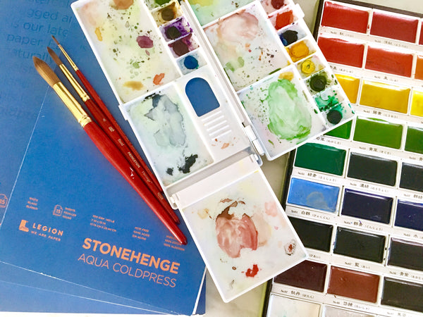 My All-Time Favorite Watercolor Supplies