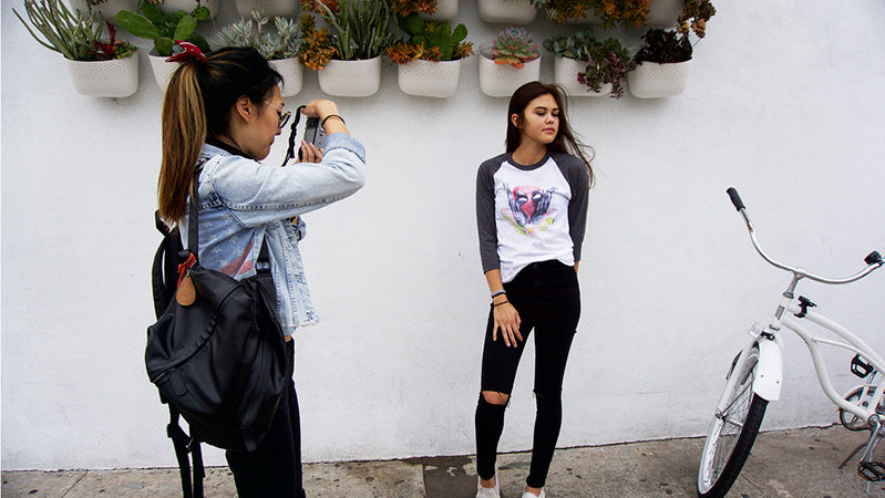 Behind-The-Scenes: Kimposed Apparel Photoshoot