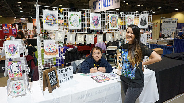Artist Alley Tips for Comic Conventions Pt.1