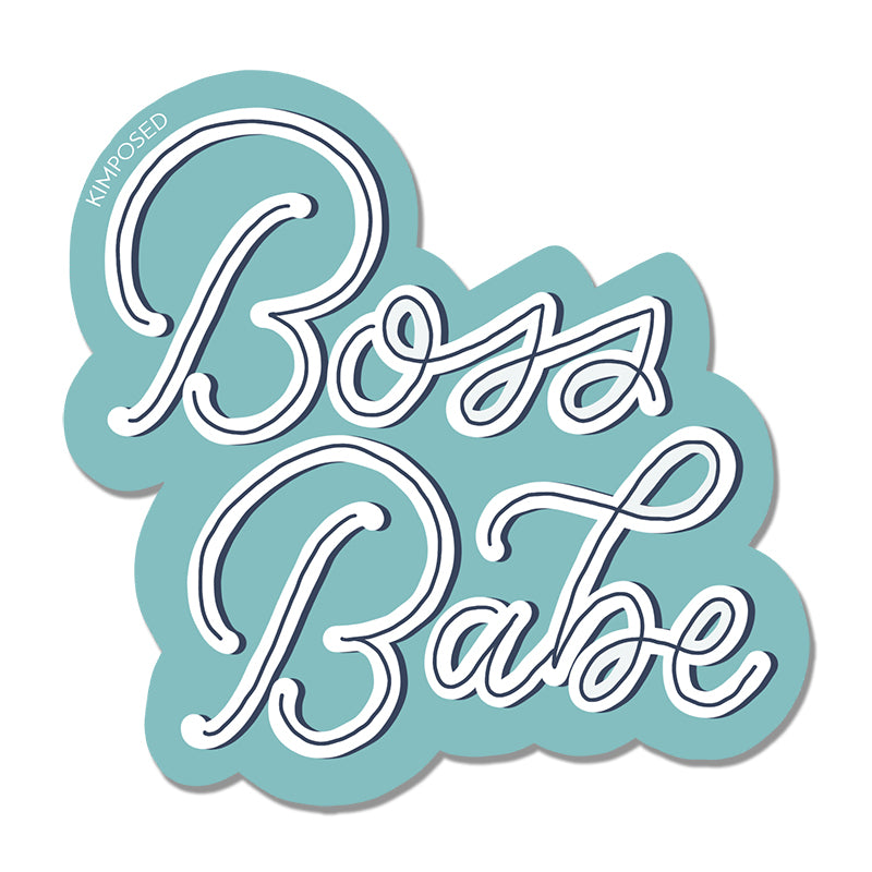 Boss Babe Sticker
