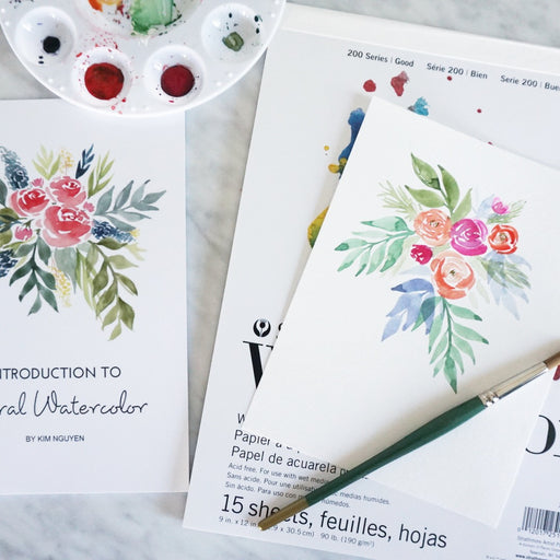 1/24 - Floral Watercolor Workshop
