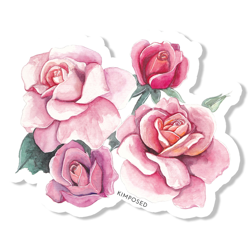 Rose Bunch Sticker