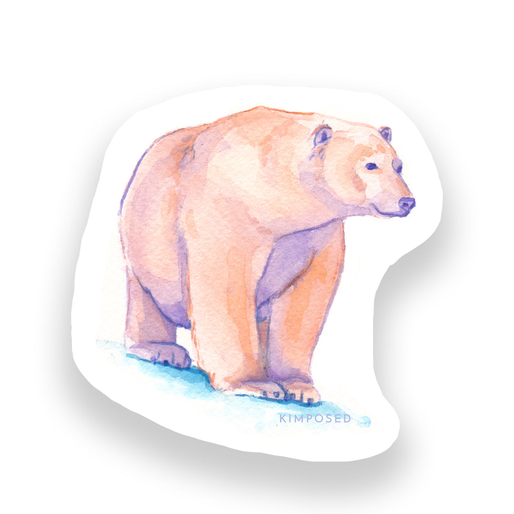 Tatqiq Polar Bear Sticker