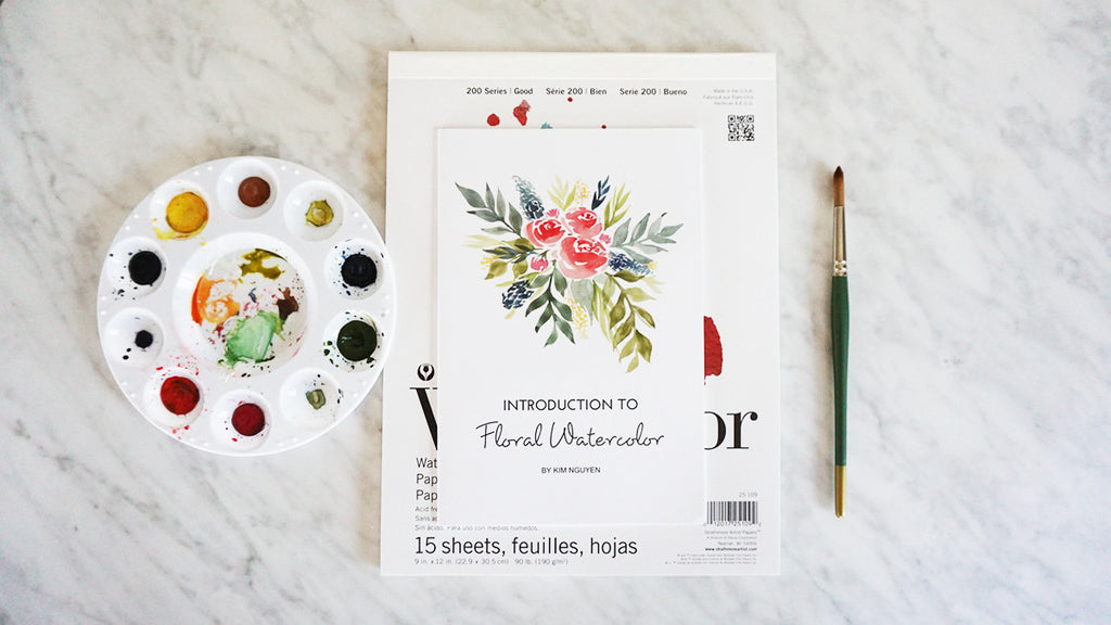 Introduction to Floral Watercolor Booklet