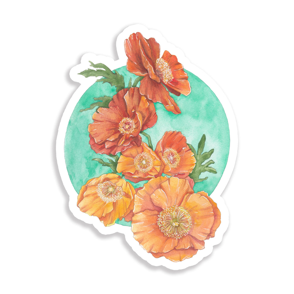 Anemone Flow Sticker
