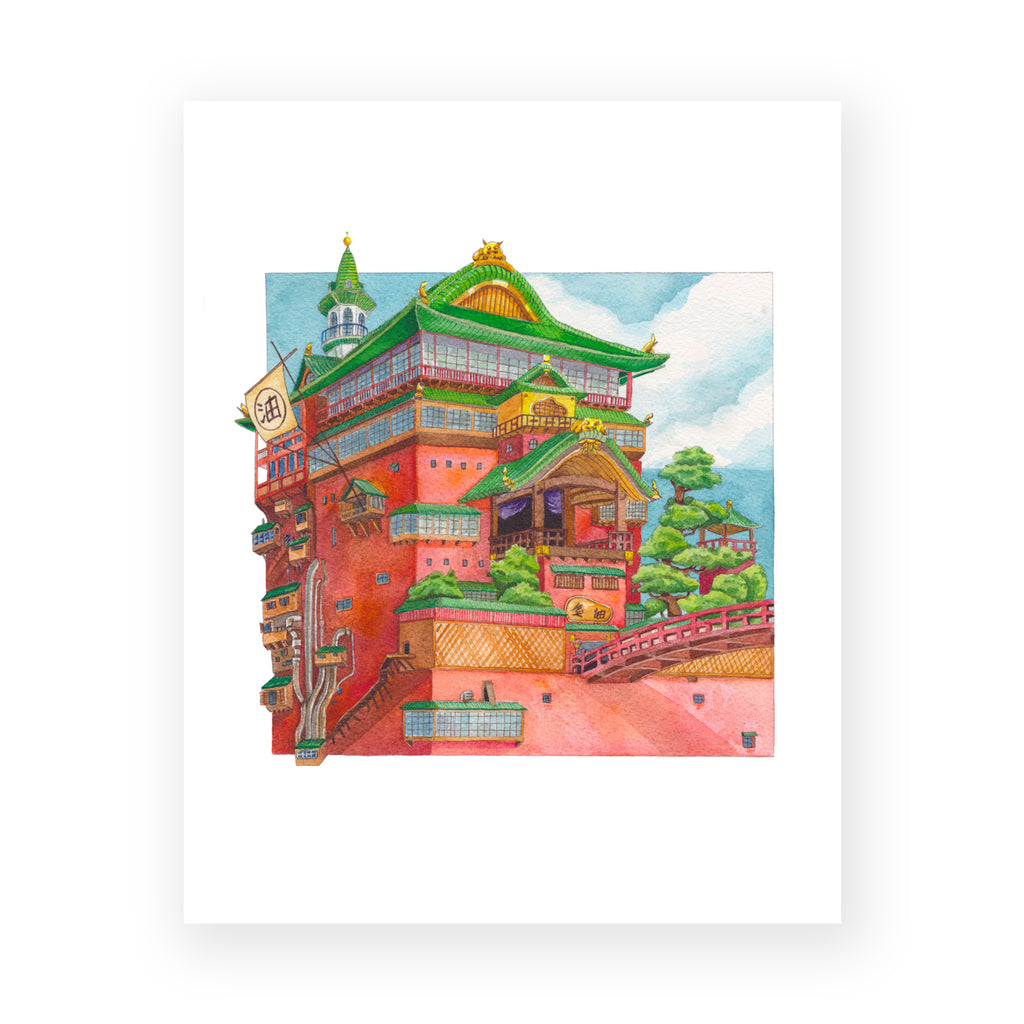 The Bathhouse Print
