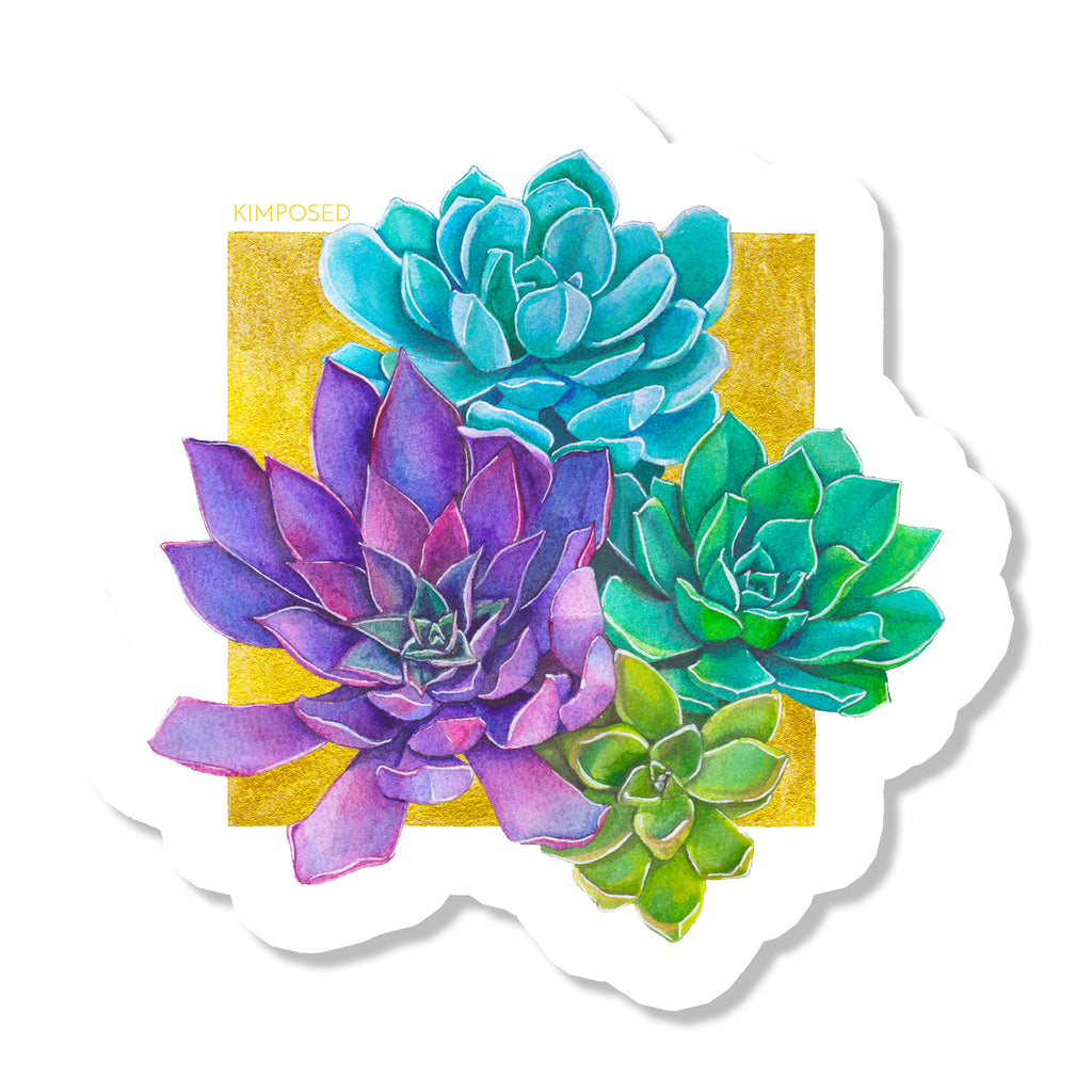Succulent Bunch Sticker
