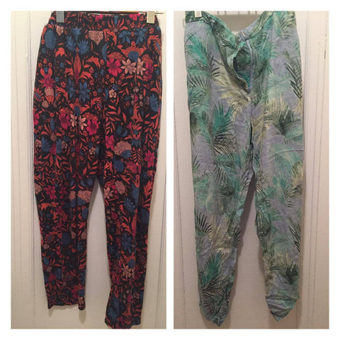 joggers, harem pants, addition elle, h&m, plus size