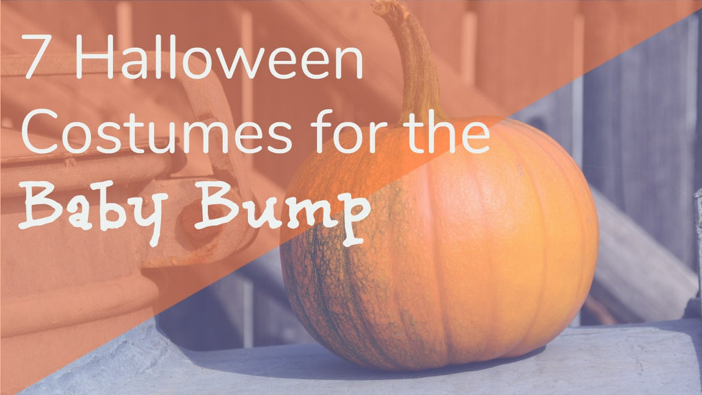7 Halloween Costumes for the Baby Bump!