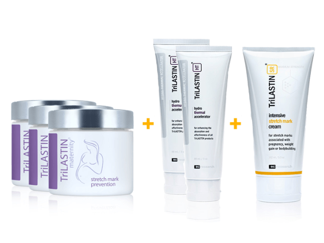 The Mommy Bundle - TriLASTIN Stretch Mark Cream