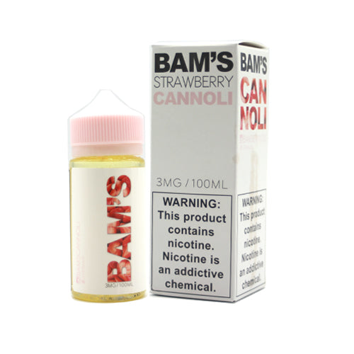 Strawberry Cannoli - Bams Bam's
