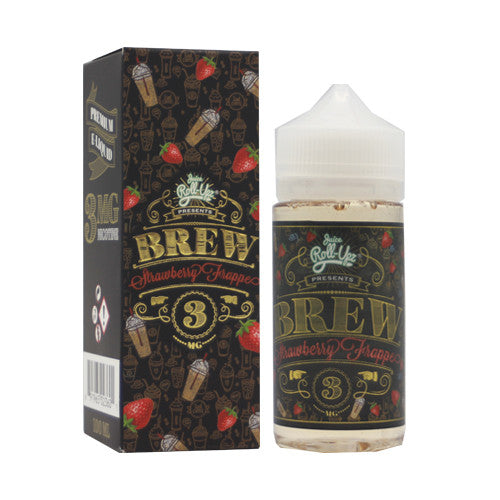 Juice Roll Up ( Brew Strawberry Frappe ) 100ML