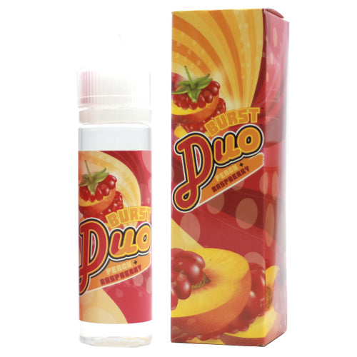 Peach Raspberry Duo - Burst