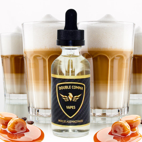 Double Comma Vapes (MURCIELAGO MACCHIATO) 60ML