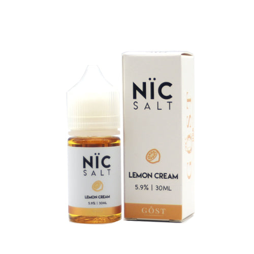 Lemon Cream - Nic Salt