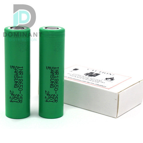 Samsung (INR18650-25R 18650 2500MAH GREEN 2-PACK)