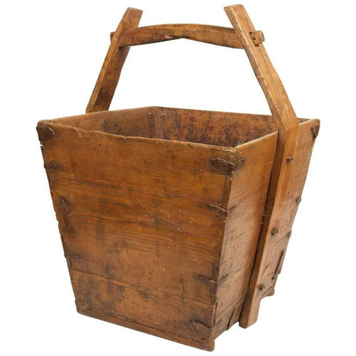 Japanese Wood Bucket