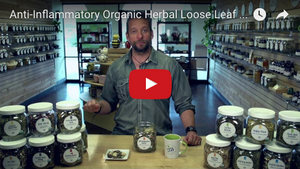 Anti-inflammatory Organic Loose Leaf Tea
