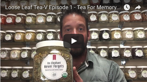 Tea For Brain and Memory Pt. 1