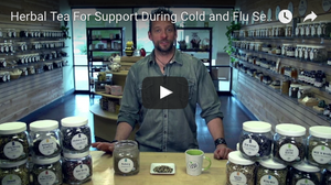 Herbal Tea For Support During Cold And Flu Season