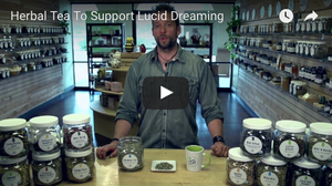 Herbal Tea To Support Lucid Dreaming