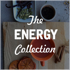 Organic loose leaf teas for energy