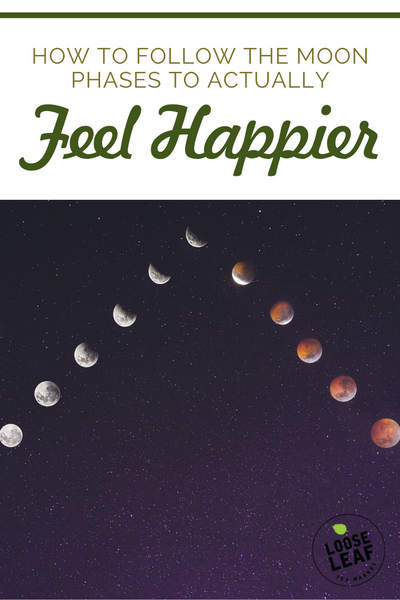 How To Follow The Moon Phases To Actually Feel Happier Pinterest