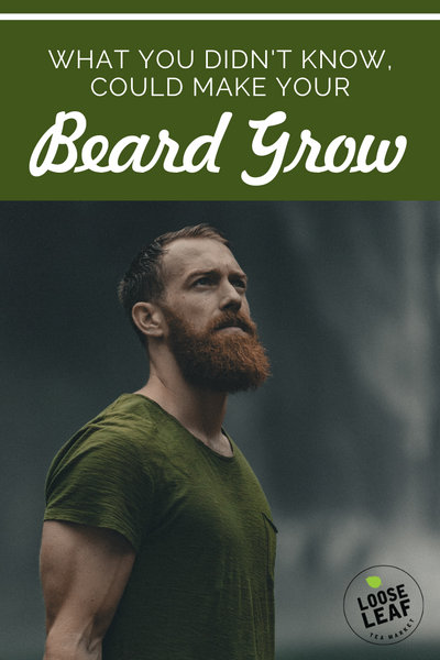 growing a beard naturally pinnable for Pinterest