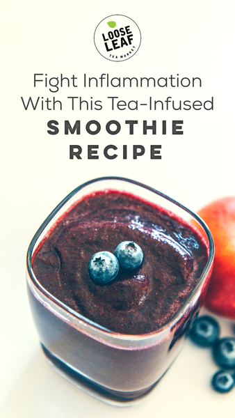 smoothie with blueberries