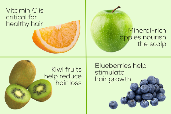 these fruits are great for your hair