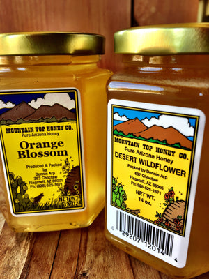 Raw Local Arizona Honey