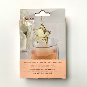 star shaped stainless steel tea infuser