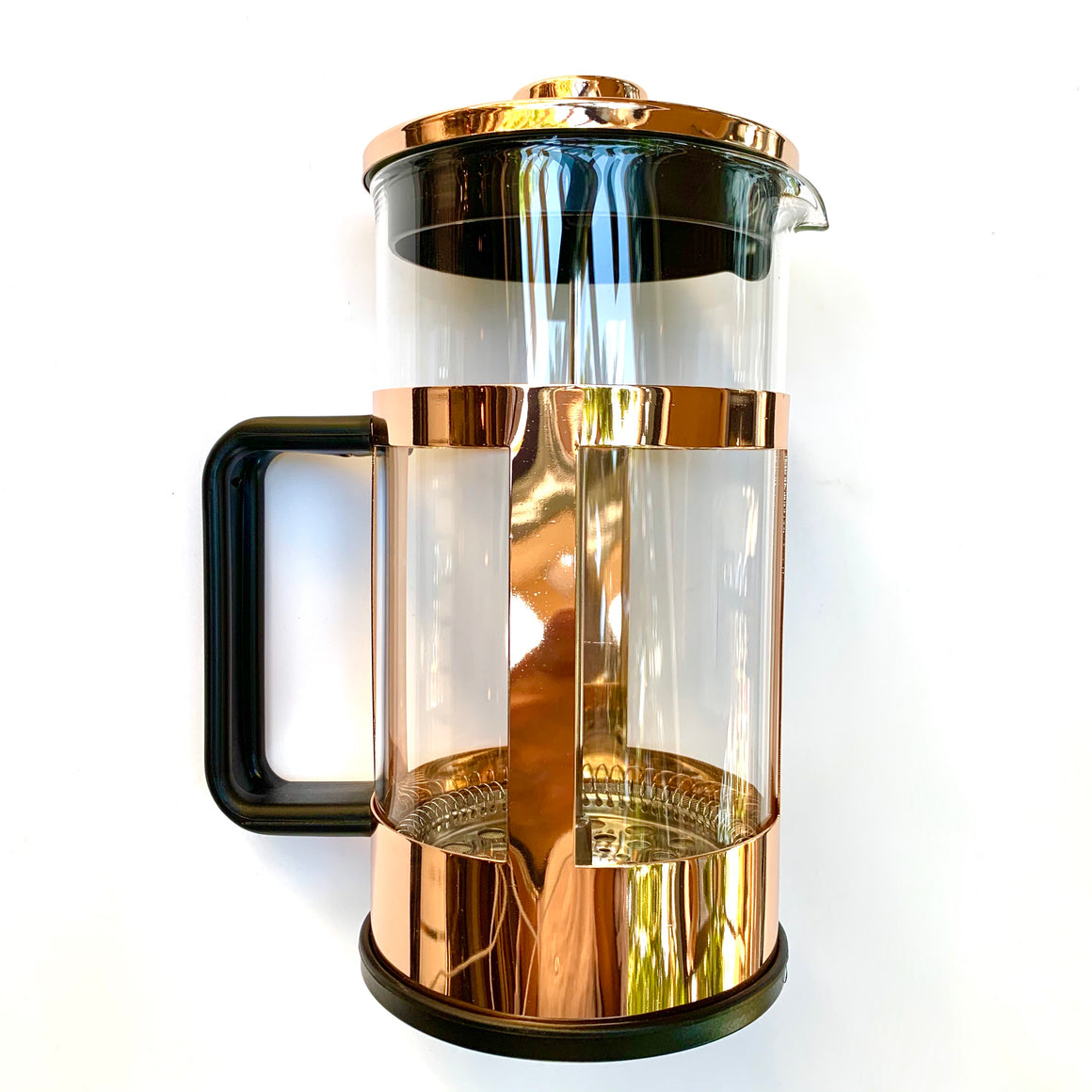 Pinky Up Piper Rose Gold French Press