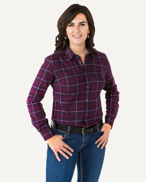 Fig / Navy Plaid