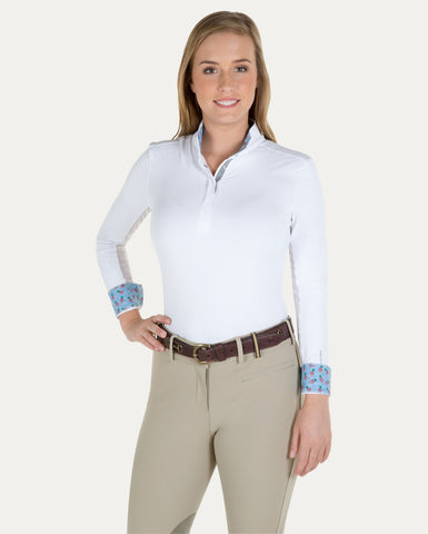 Allison Long Sleeve Pull On Show Shirt